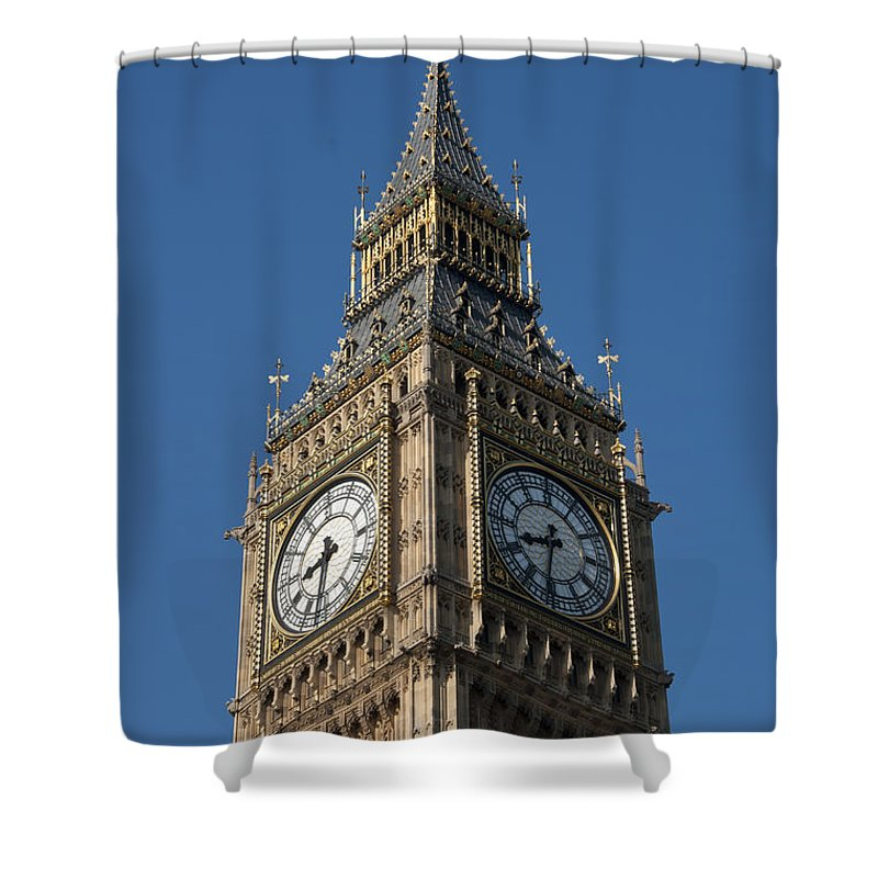 Ben Shower Curtain featuring the photograph Big Ben by Andrew Michael