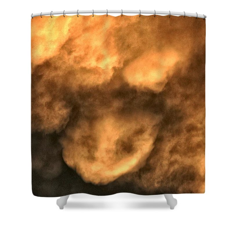 Clouds Shower Curtain featuring the photograph Billows by One Rude Dawg Orcutt