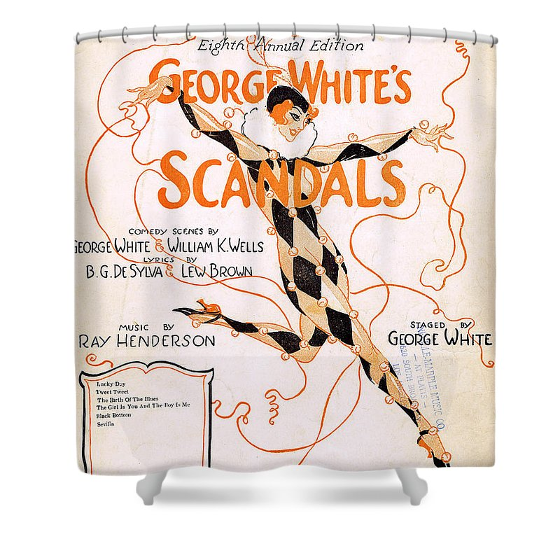 Classic Shower Curtain featuring the photograph Black Bottom by Mel Thompson