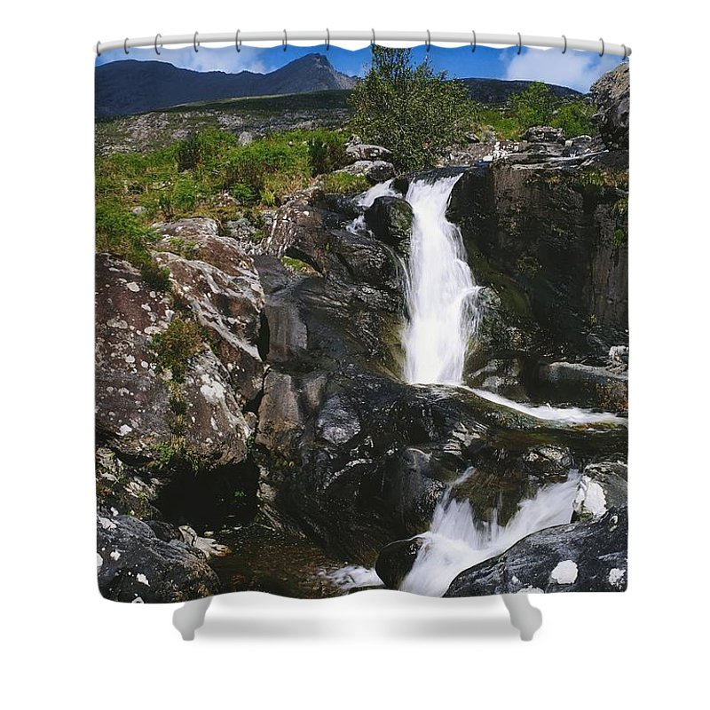 Blurred Motion Shower Curtain featuring the photograph Black Valley, Co Kerry, Ireland by The Irish Image Collection