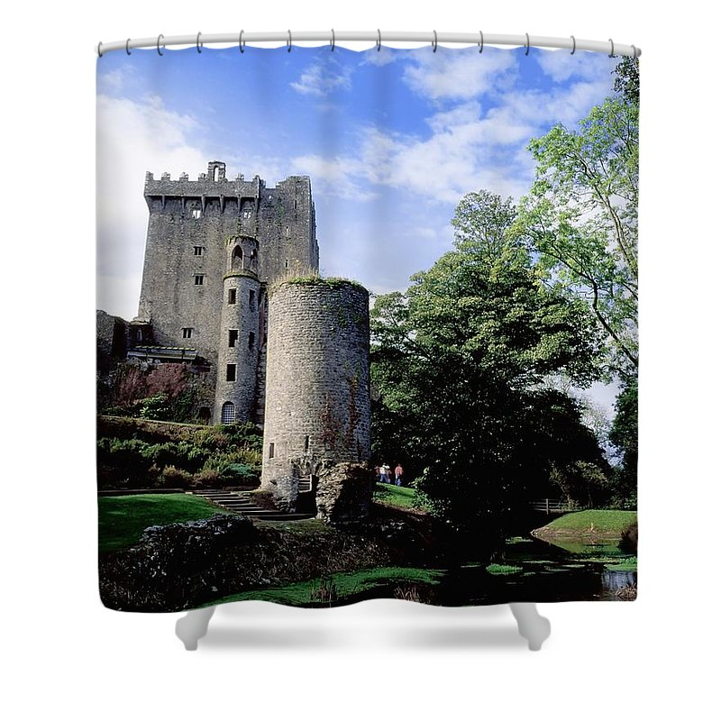 Archaeology Shower Curtain featuring the photograph Blarney Castle, County Cork, Ireland by The Irish Image Collection