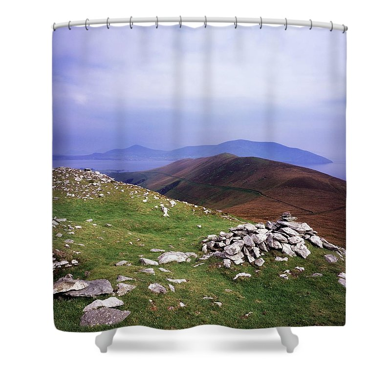 Atlantic Ocean Shower Curtain featuring the photograph Blasket Island, Co. Kerry, Ireland by The Irish Image Collection
