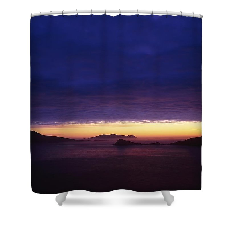 Beach Shower Curtain featuring the photograph Blasket Islands, Co Kerry, Ireland by The Irish Image Collection