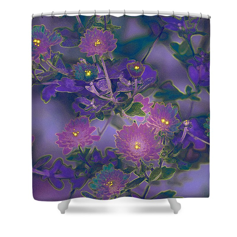 Shower Curtain featuring the photograph Blush by Barbara S Nickerson