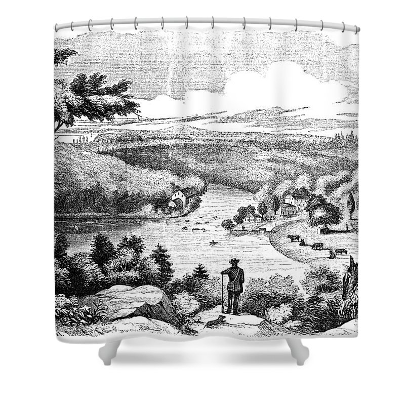 1777 Shower Curtain featuring the photograph Brandywine Battlefield by Granger