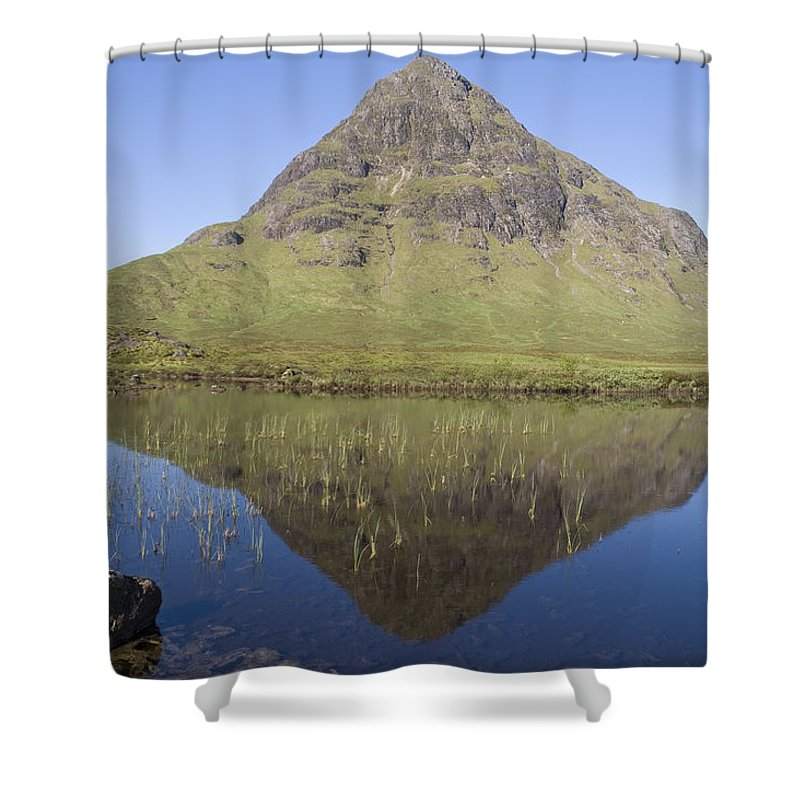 Buachaille Etive Beag Shower Curtain featuring the photograph Buachaille Etive Beag by Howard Kennedy