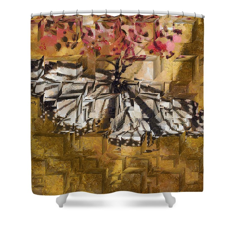 Butterfly Shower Curtain featuring the photograph Butter Can't Fly by Trish Tritz