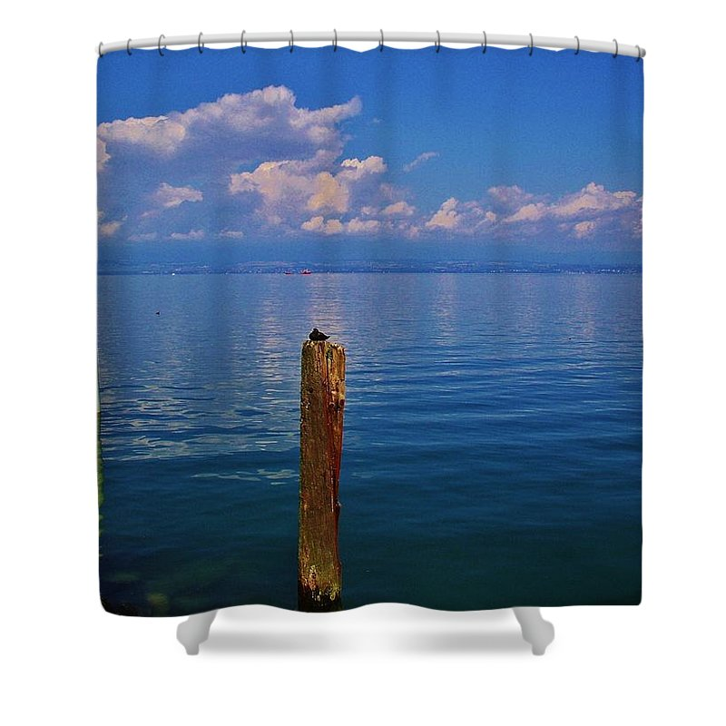 Cap Ferret Shower Curtain featuring the photograph Cap Ferret by Dany Lison