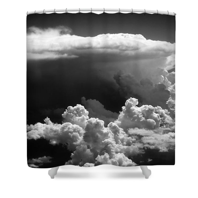 Clouds Shower Curtain featuring the photograph Cb1.020250 by Strato ThreeSIXTYFive