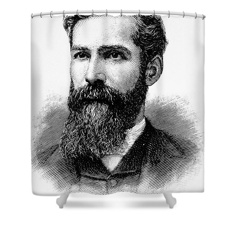19th Century Shower Curtain featuring the photograph Charles Betts Galloway by Granger