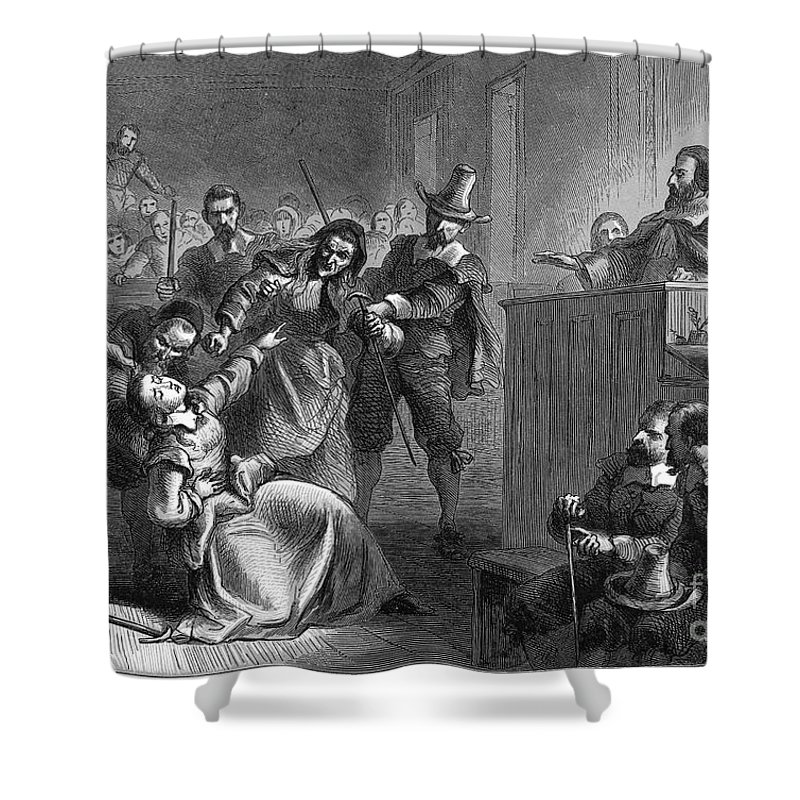 1677 Shower Curtain featuring the photograph Cheesmans Wife, 1677 by Granger