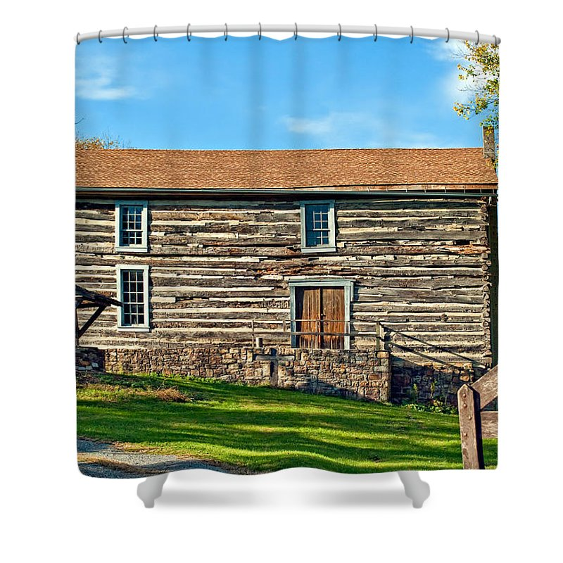 Pennsylvania Shower Curtain featuring the photograph Christ Church by Steve Harrington