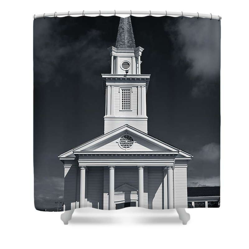 Eureka Shower Curtain featuring the photograph Church In Eureka by Greg Nyquist