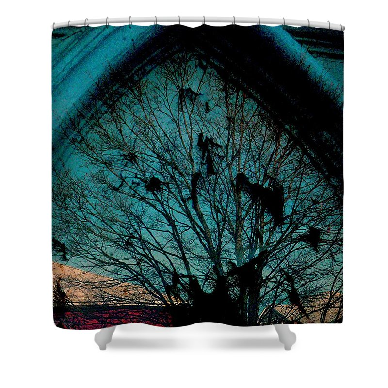 Window Shower Curtain featuring the photograph Church Window by Chris Berry