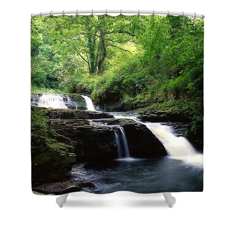 Clare Glens Shower Curtain featuring the photograph Clare Glens, Co Limerick, Ireland Irish by The Irish Image Collection
