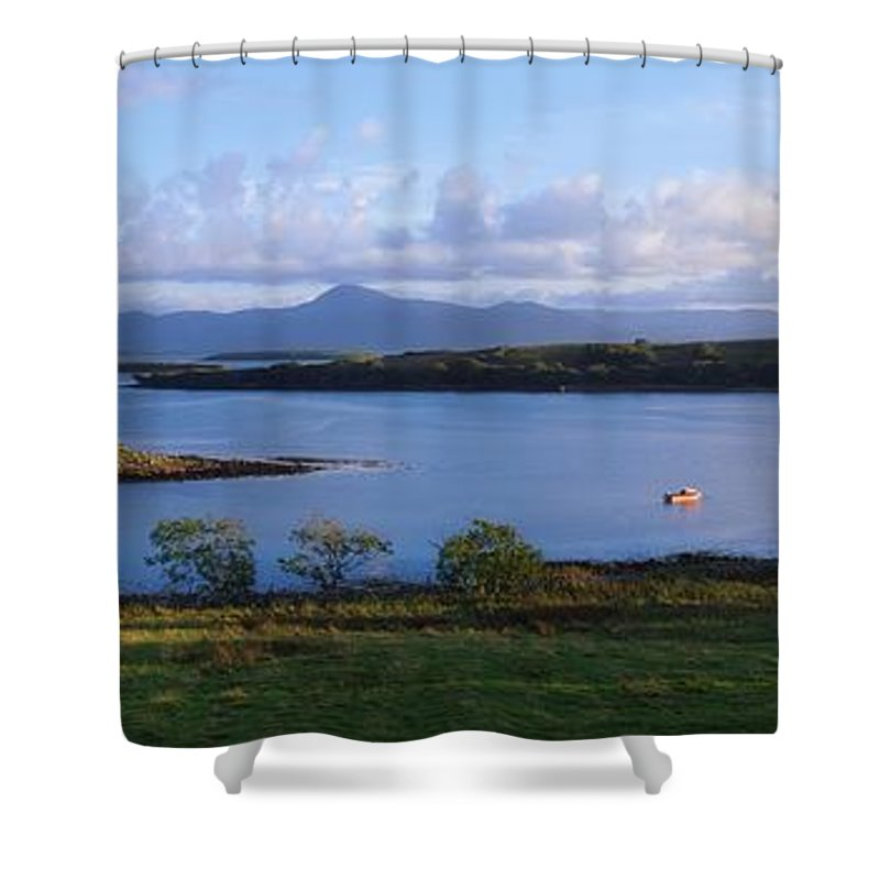 Clew Bay Shower Curtain featuring the photograph Clew Bay, Co Mayo, Ireland by The Irish Image Collection