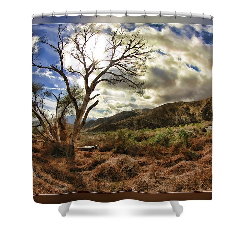 Fine Art Photographers Shower Curtain featuring the photograph Cloudy Valley by Blake Richards