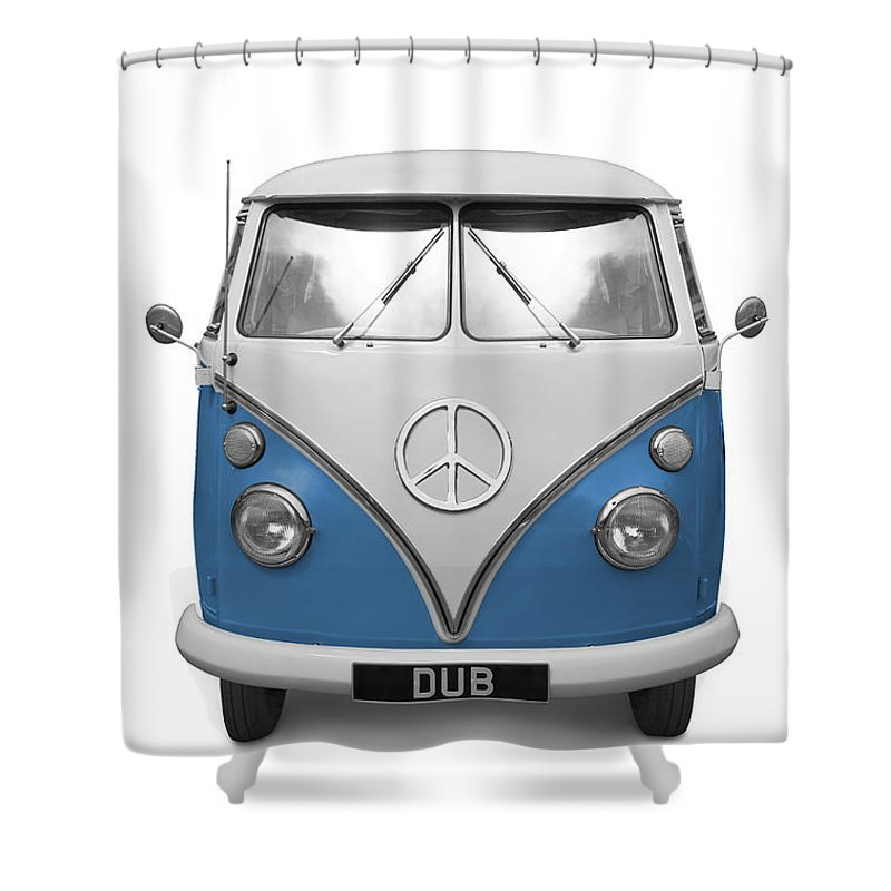 Vw Shower Curtain Featuring The Photograph Cnd Dub By Martin Williams