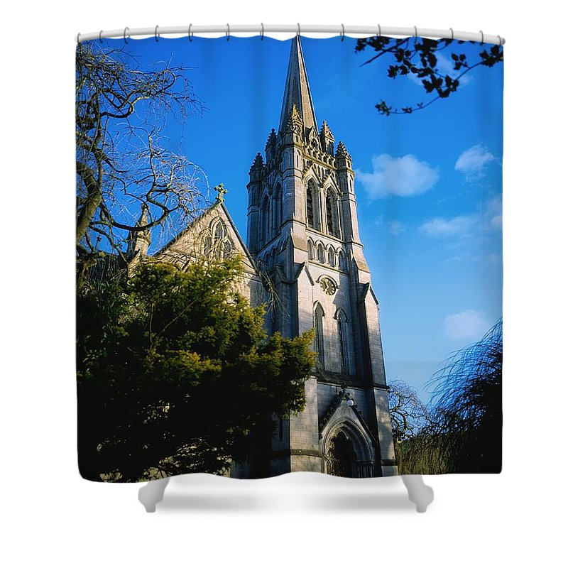 E.u. Shower Curtain featuring the photograph Co Carlow, Myshall Church Dedicated To by The Irish Image Collection