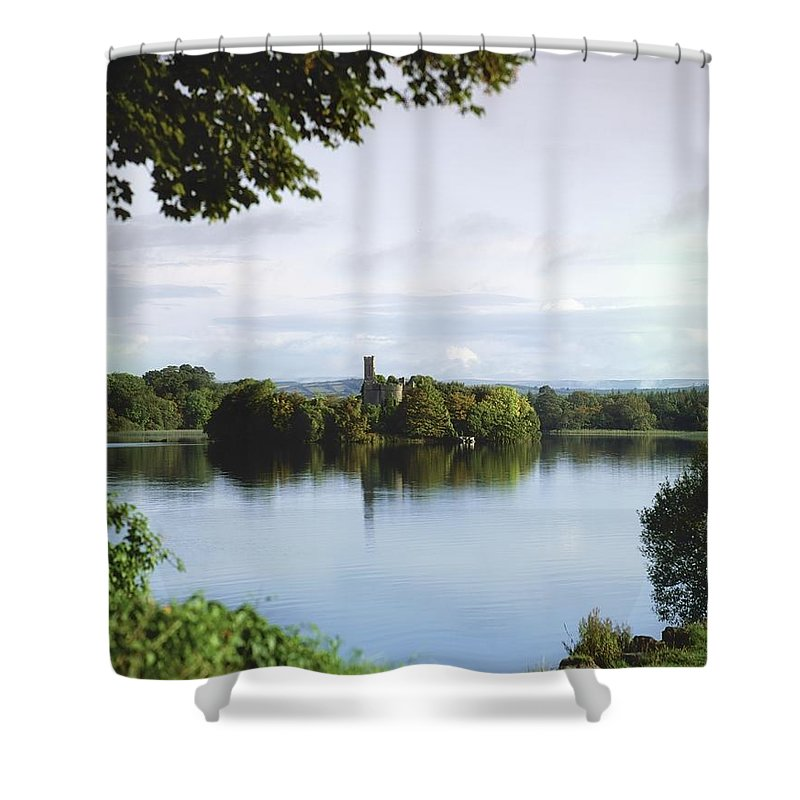 Attraction Shower Curtain featuring the photograph Co Roscommon, Lough Key by The Irish Image Collection