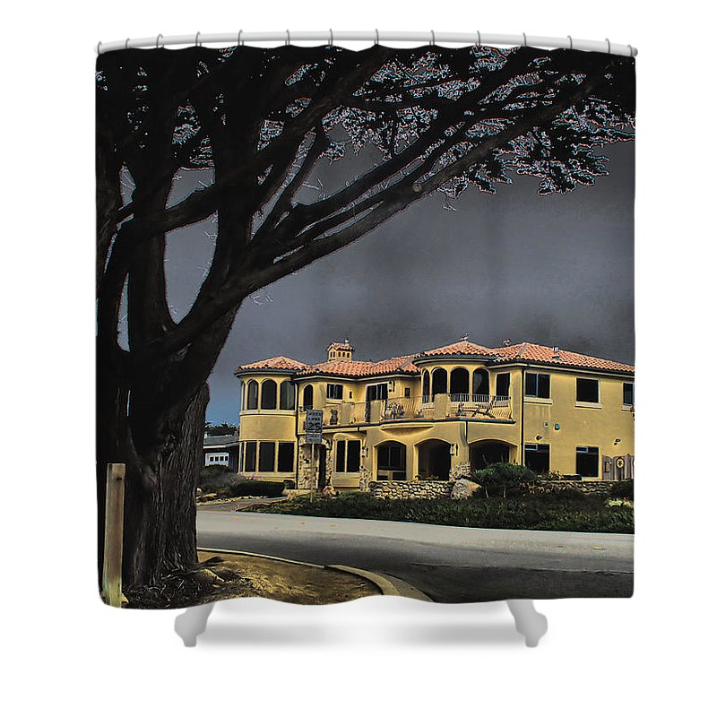 Architecture Shower Curtain featuring the photograph Coastal Architecture One by Joyce Dickens