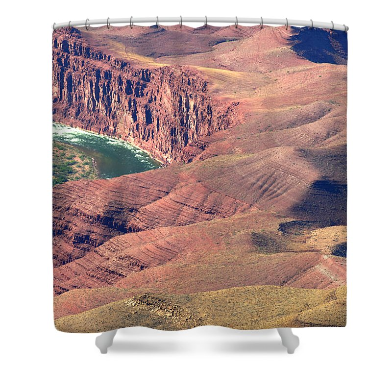 Colorado River Shower Curtain featuring the photograph Colorado River Iv by Julie Niemela