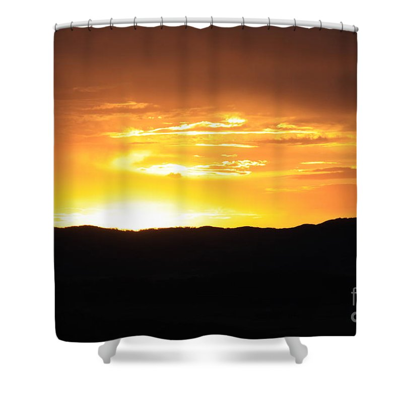 Sunset Shower Curtain featuring the photograph Colorado Sunset by Dana Kern