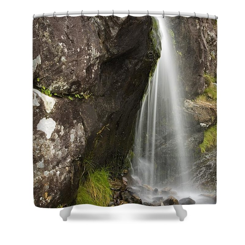 Brook Shower Curtain featuring the photograph Connor Pass, Dingle Peninsula, County by Richard Cummins