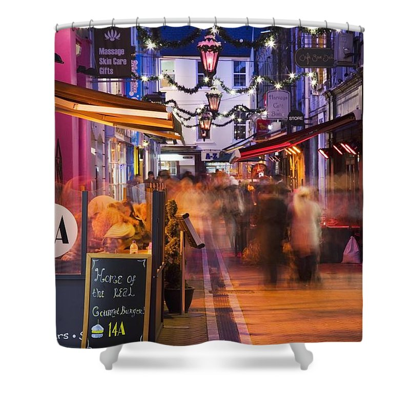 Ireland Shower Curtain featuring the photograph Cork, County Cork, Ireland A City by Peter Zoeller