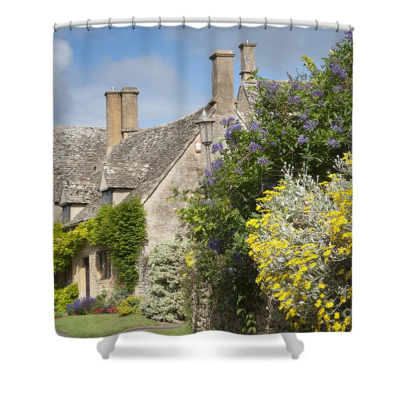 Cotswolds Shower Curtain featuring the photograph Country Cottage by Andrew Michael