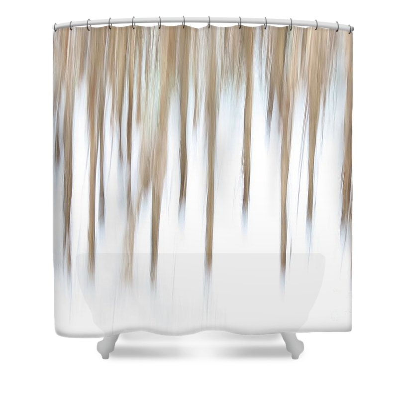 Abstract Shower Curtain featuring the photograph Crazy Corn by Rrrose Pix