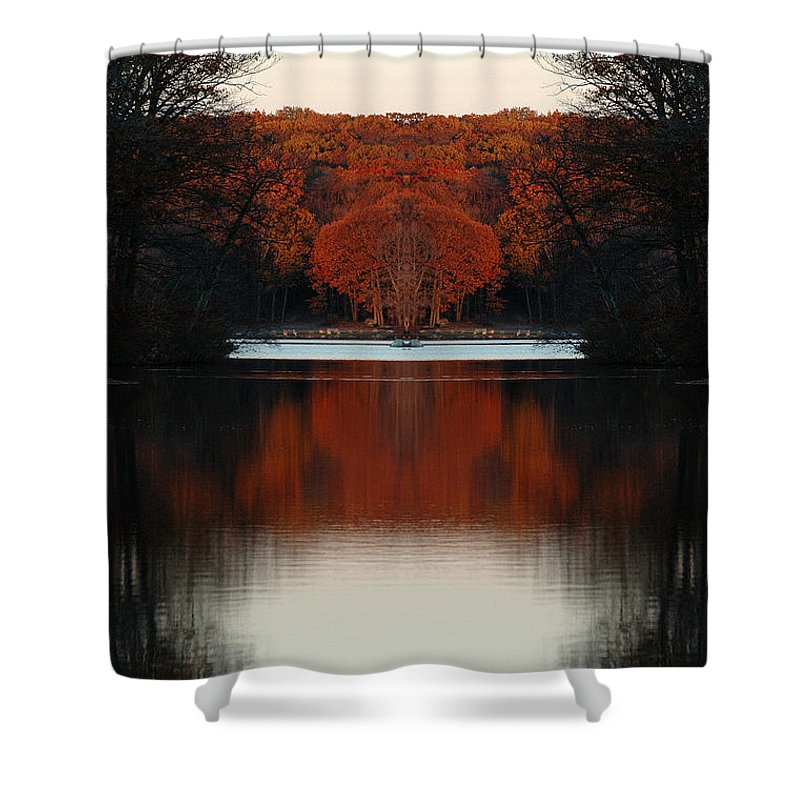 Shower Curtain featuring the photograph Creation 12 by Mike Nellums