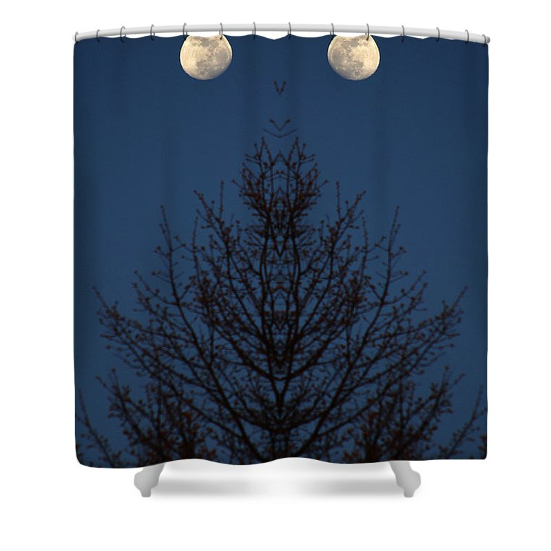 Shower Curtain featuring the photograph Creation 123 by Mike Nellums