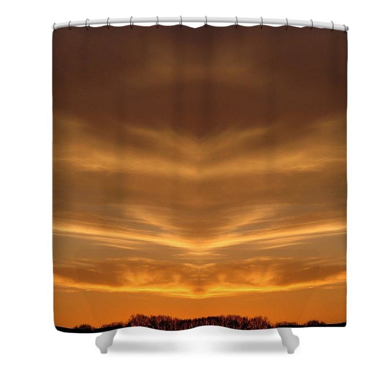 Shower Curtain featuring the photograph Creation 149 by Mike Nellums