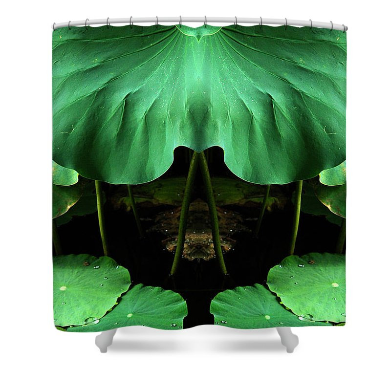 Shower Curtain featuring the photograph Creation 72 by Mike Nellums