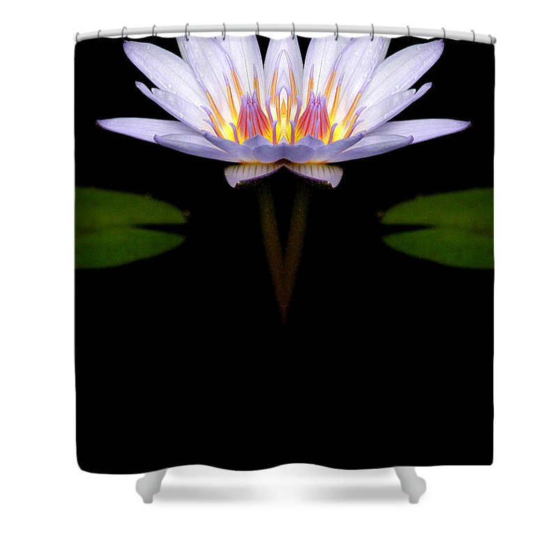 Shower Curtain featuring the photograph Creation 74 by Mike Nellums