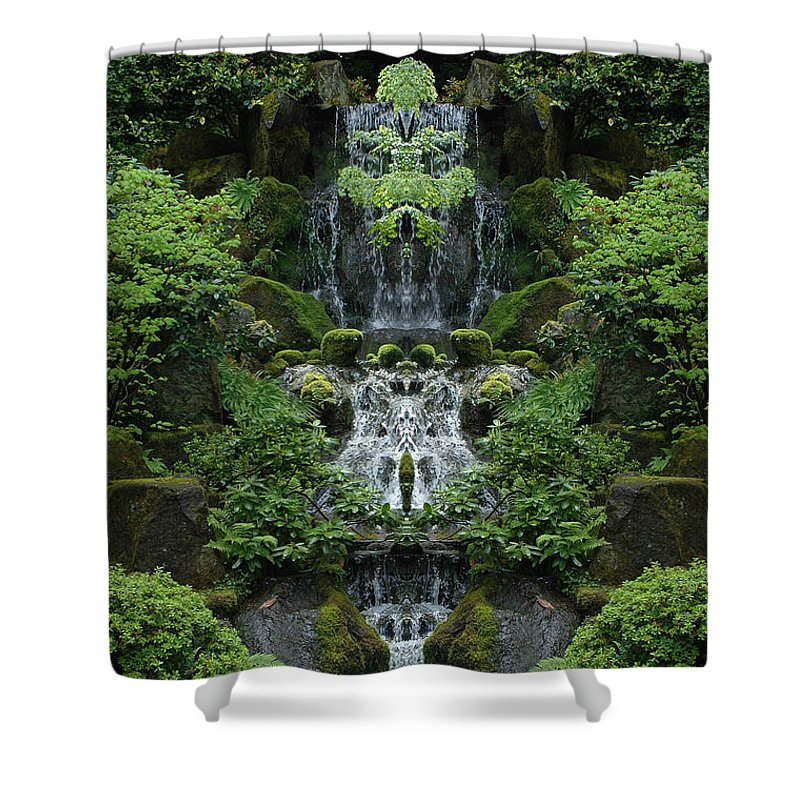 Shower Curtain featuring the photograph Creation 99 by Mike Nellums