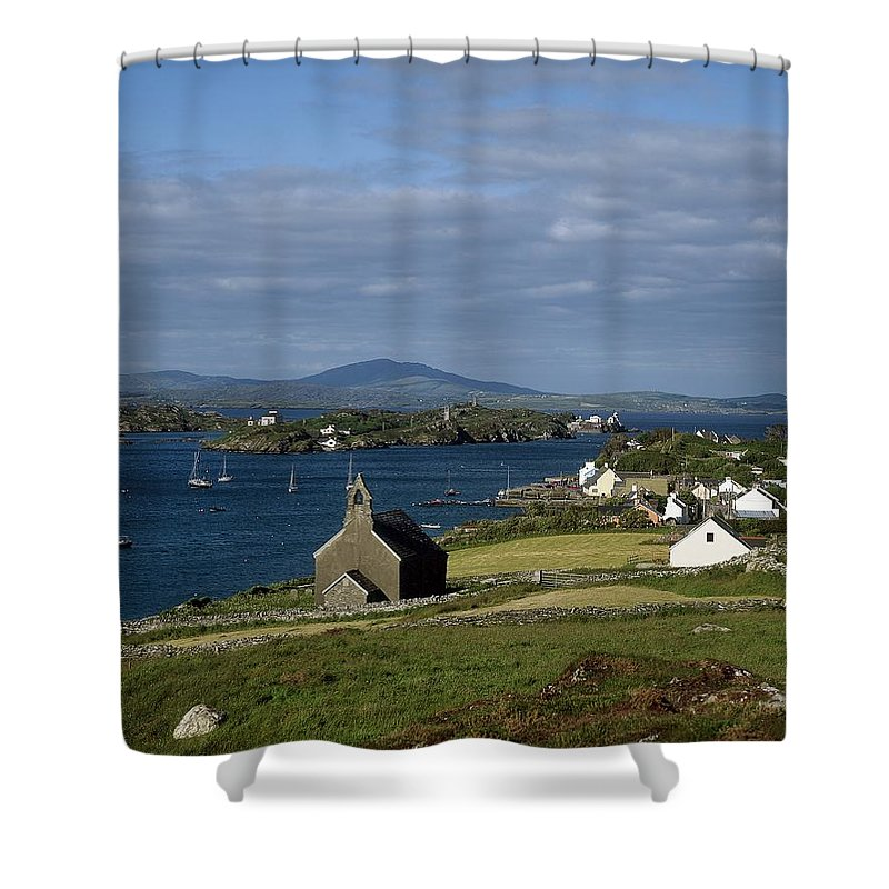 Boat Shower Curtain featuring the photograph Crookhaven, Co Cork, Ireland by The Irish Image Collection