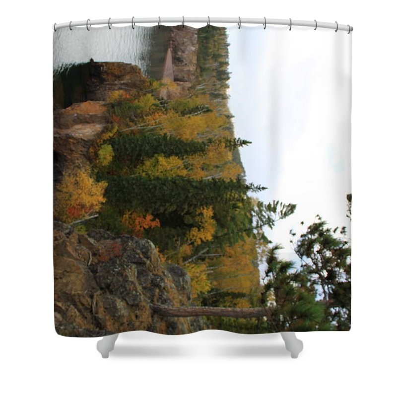 Shower Curtain featuring the photograph Crystal Creek by Joi Electa