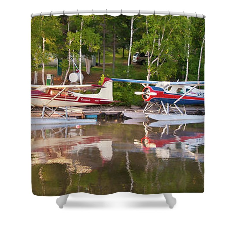 Greenville Shower Curtain featuring the photograph Curriers by Guy Whiteley
