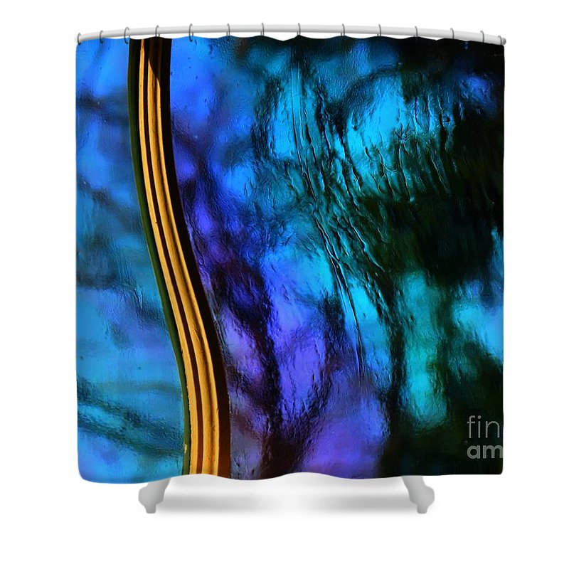 Abstract Shower Curtain featuring the photograph Curve by Rrrose Pix