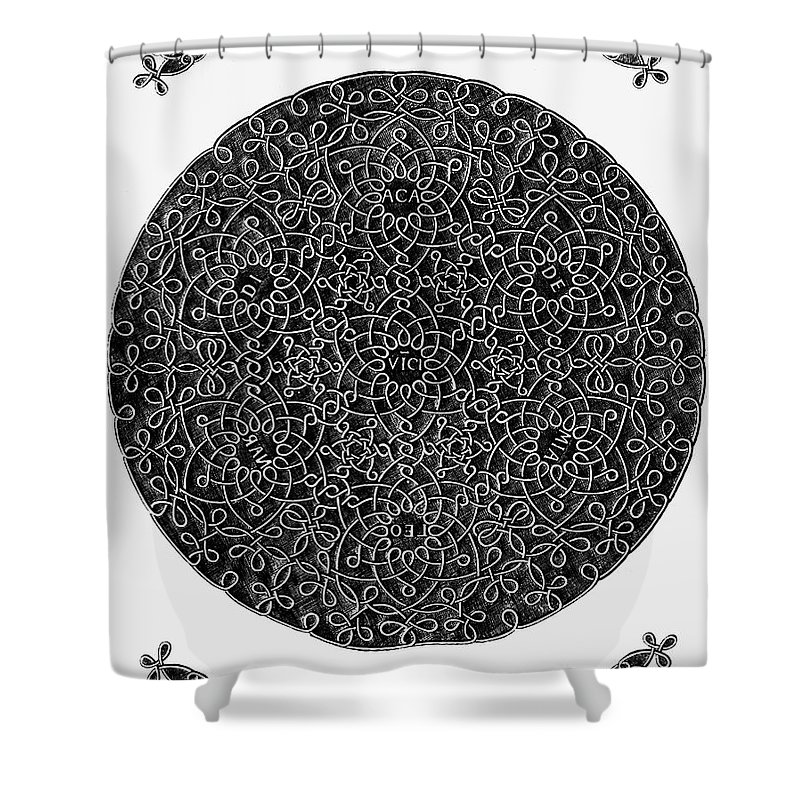 15th Century Shower Curtain featuring the photograph Da Vinci: Sixth Knot by Granger