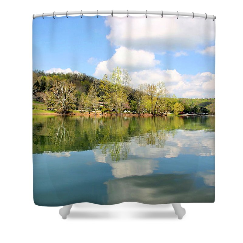 Dale Hollow Shower Curtain featuring the photograph Dale Hollow Tennessee by Kristin Elmquist