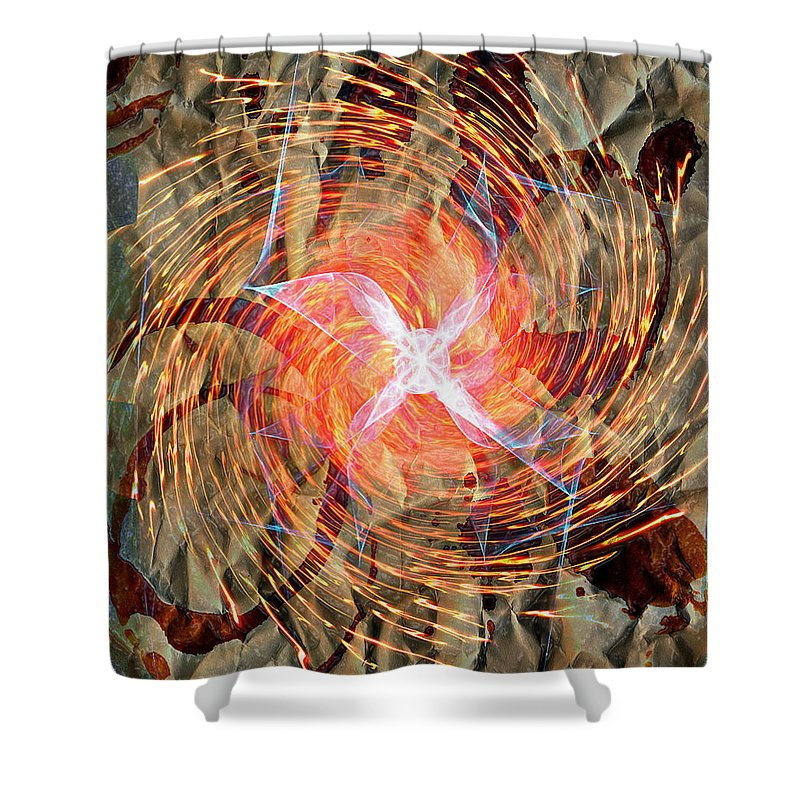 Popular Keywordsthe Keywords Shower Curtain featuring the photograph Dance Of Fires by The Artist Project