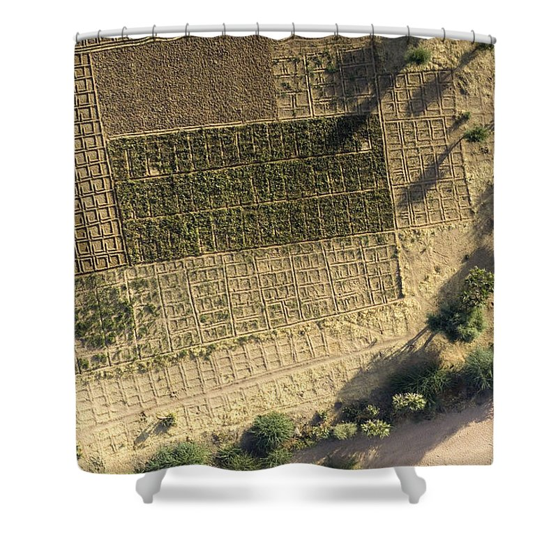 Landscape Shower Curtain featuring the photograph Deep In The Air Mountains Every by Michael Fay