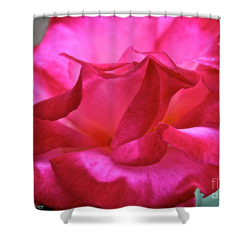 Outdoors Shower Curtain featuring the photograph Dick Clark by Susan Herber
