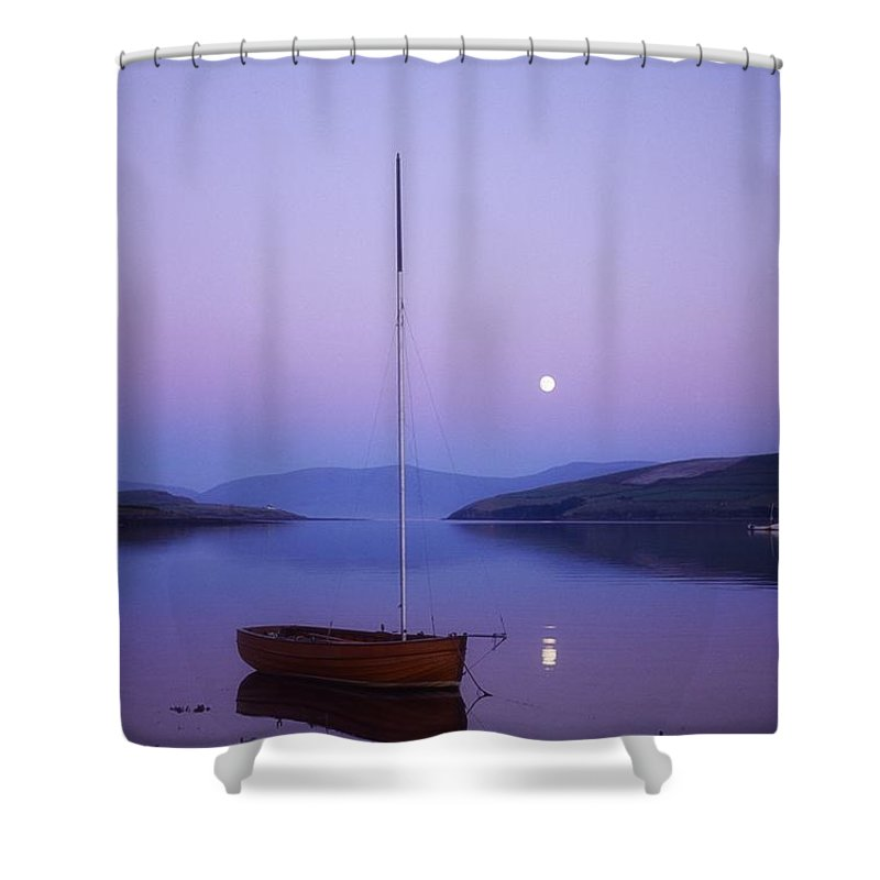 Boat Shower Curtain featuring the photograph Dingle Harbour, Co Kerry, Ireland by Sici