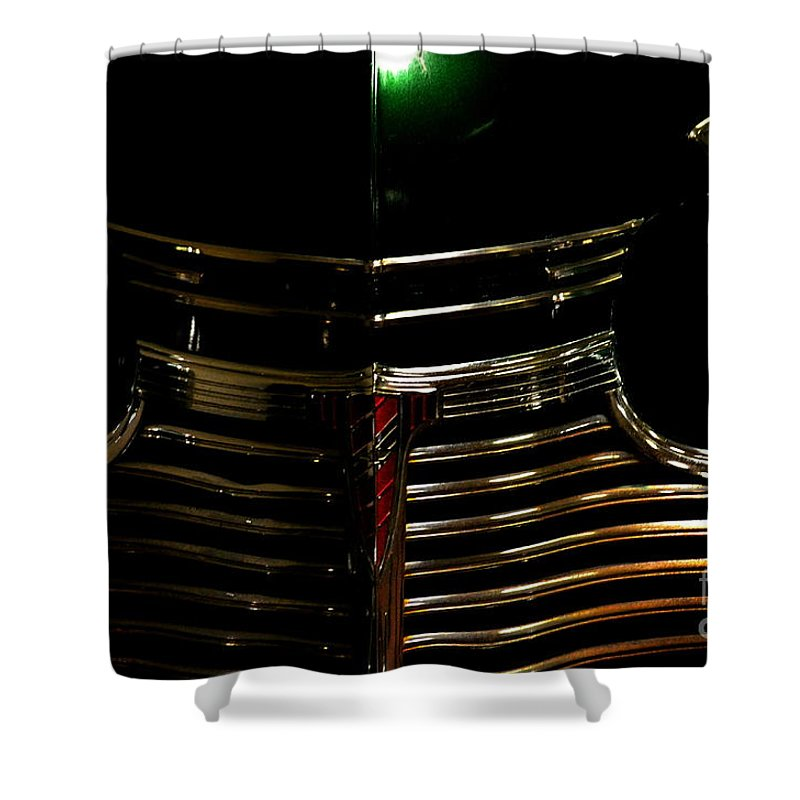 Vintage Automobile Shower Curtain featuring the photograph Dodge by Newel Hunter
