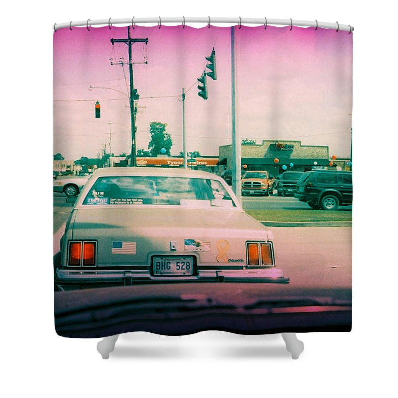 Louisiana Shower Curtain featuring the photograph Dont Let The Car Fool You 1 by Doug Duffey