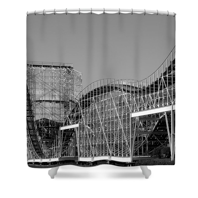 Double Dippin Shower Curtain featuring the photograph Double Dippin by Ed Smith